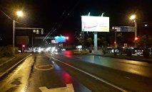 Наезд на двух пешеходов произошел на одной из улиц в Алматы