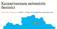 Қазақстанның әкімшілік-аумақтық бөлінісі