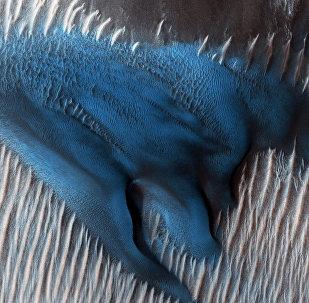 Голубые дюна Марсе