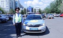 Полиция қызметкері Азамат Балтабаев