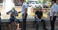 Архивное фото казахстана во время рейда
