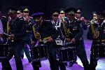 Военные оркестры Казахстана, России и КНР показали свое мастерство в Астане