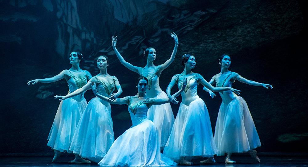 Открытие международного фестиваля балетного искусства в Астане