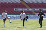 Тренировка сборной Египта