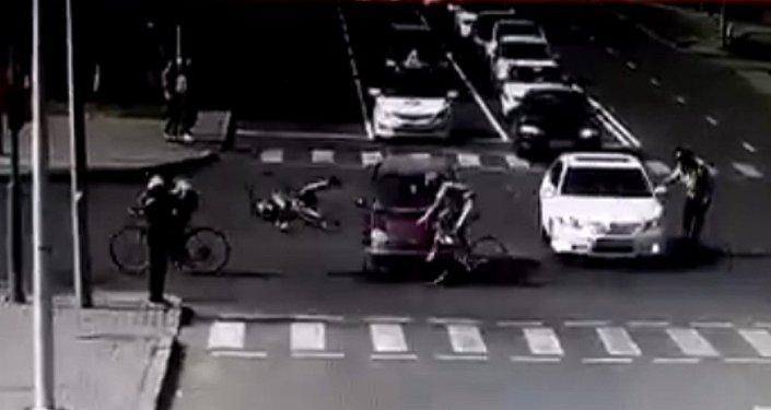 Инцидент во время дуатлона