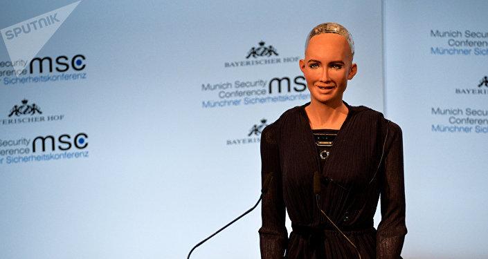Человекоподобный робот София