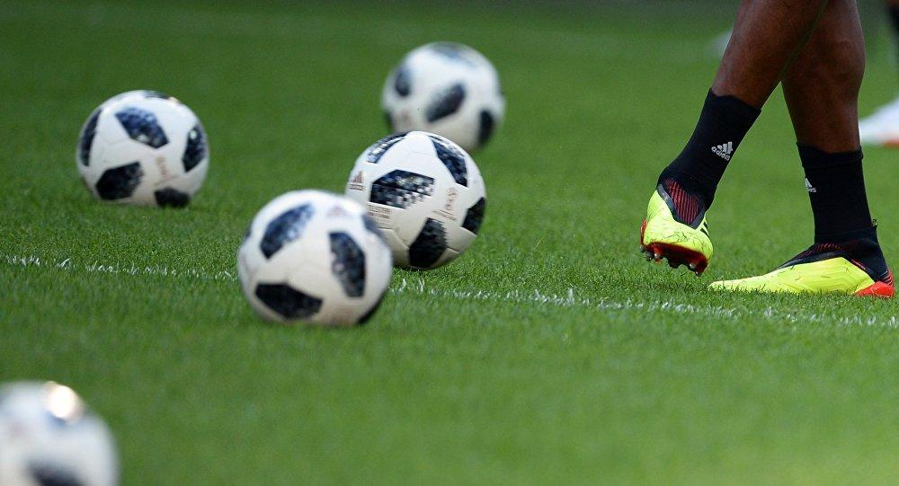 Футбол. ЧМ-2018. Тренировка сборной Колумбии
