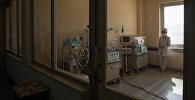 Медсестра в китайской больнице, архивное фото