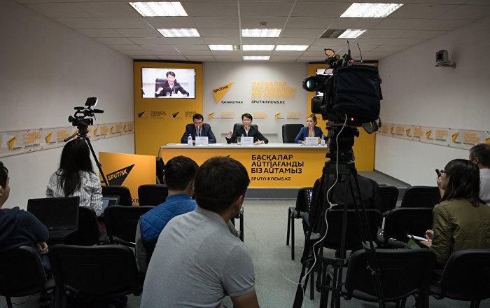 Пресс-конференция с участием Кадырали Болманова, 27 июня 2018 г.