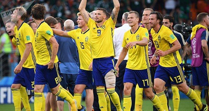 Футбол. ЧМ-2018. Матч Мексика - Швеция