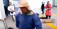 Танцор из Башкортостана удивил посетителей аэропорта Астаны