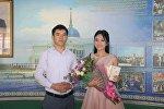 Выпускница из Алматы Шиара Кудайбергенова получила iPhone