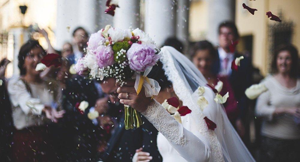 Свадьба, иллюстративное фото