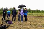 Журналисты ждали, что Нурсултан Назарбаев сменит привычный строгий костюм на спортивную одежду и приедет осматривать Зеленый пояс