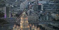 Вид на Москву со смотровой площадки, архивное фото