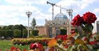 Здание павильона Казахстан на ВДНХ в Москве