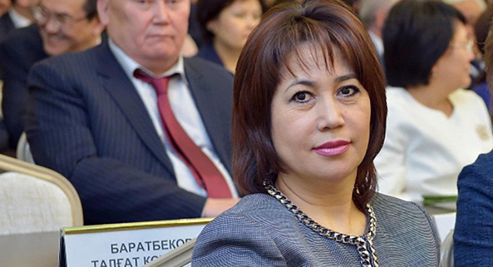 Судья Верховного суда Гульнара Мергенова