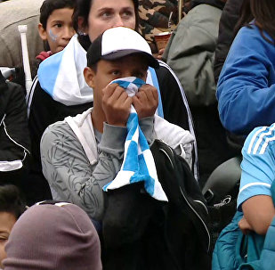 Реакция аргентинцев на поражение сборной в ЧМ