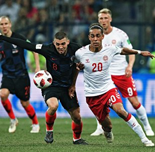 Матч  Хорватия - Дания