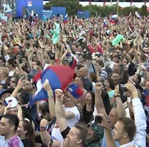 Победа над Испанией: радость российских болельщиков