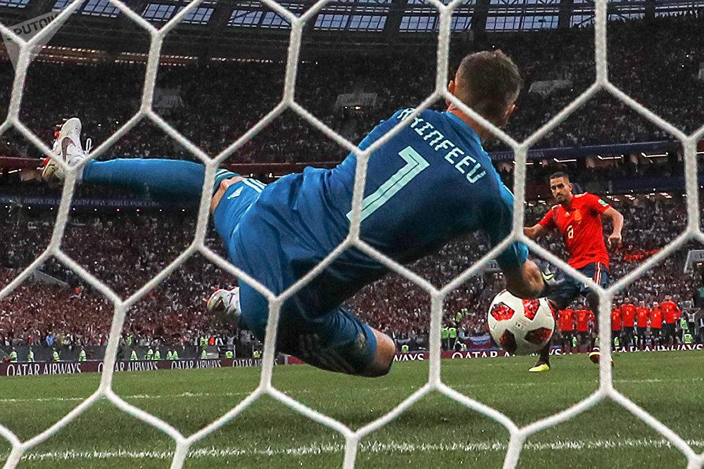 Футбол. ЧМ-2018. Матч Испания – Россия