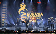 Кинорежиссер Эмир Кустурица на кинофестивале Евразия-2018