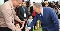 Президент Казахстана посетил новый детский сад в Астане