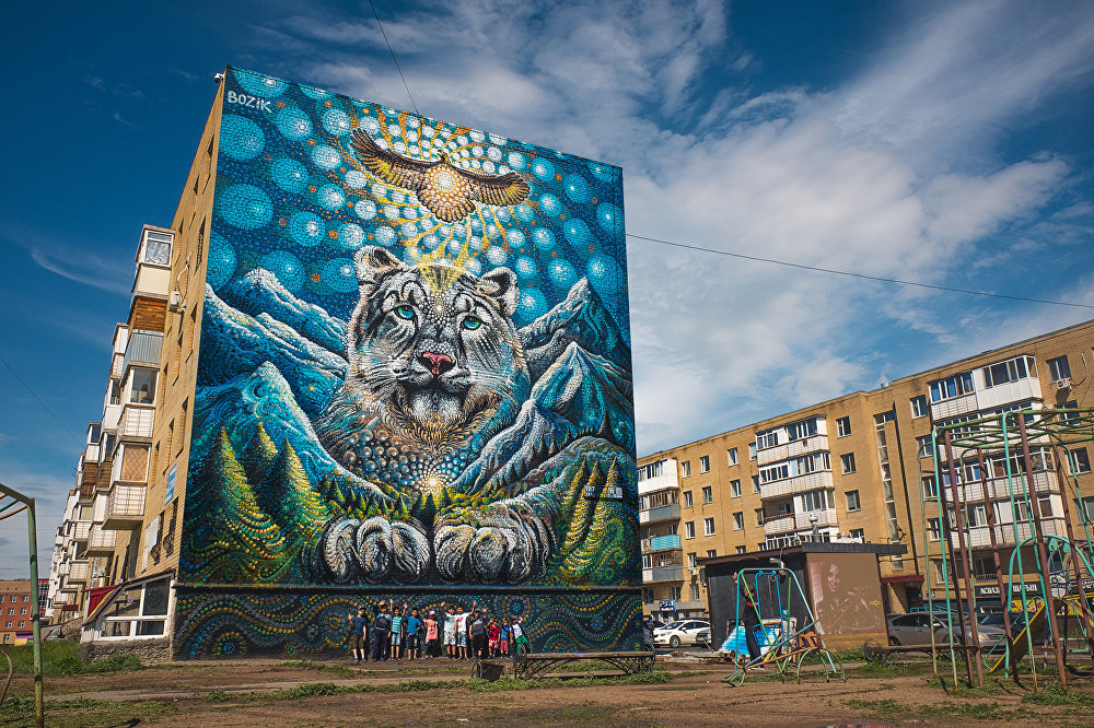 Фестиваль граффити URBAN ART ASTANA