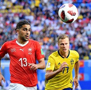 Футбол. ЧМ-2018. Матч Швеция - Швейцария