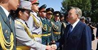 Первый президент Казахстана Нурсултан Назарбаев, архивное фото