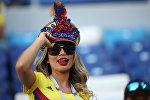 Болельщица сборной Колумбии