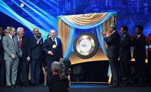 Президент Казахстана Нурсултан Назарбаев дал старт официальной работе Международного финансового центра Астана