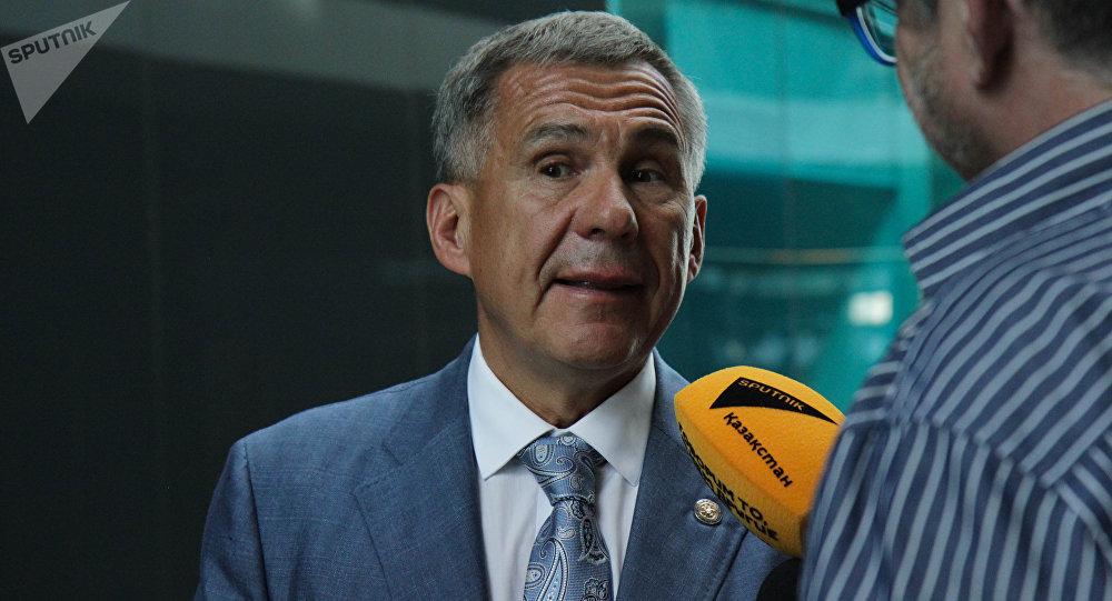 Татарстан президенті Рустам Минниханов