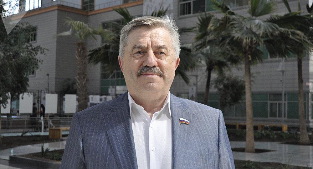 Депутат Государственной Думы Виктор Водолацкий