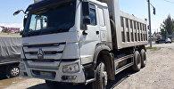 Большегруз столкнулся с легковым автомобилем на Капчагайской трассе