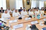 Арабские бизнесмены на встрече с акимом СКО