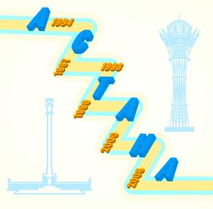 Инфографика: важнейшие даты в истории Астаны