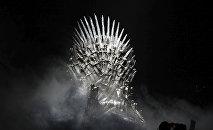 Железный трон из  популярного сериала Игра престолов