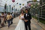 Кайсар и Карина поженились в День столицы