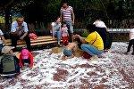 Снежный парк в Астане