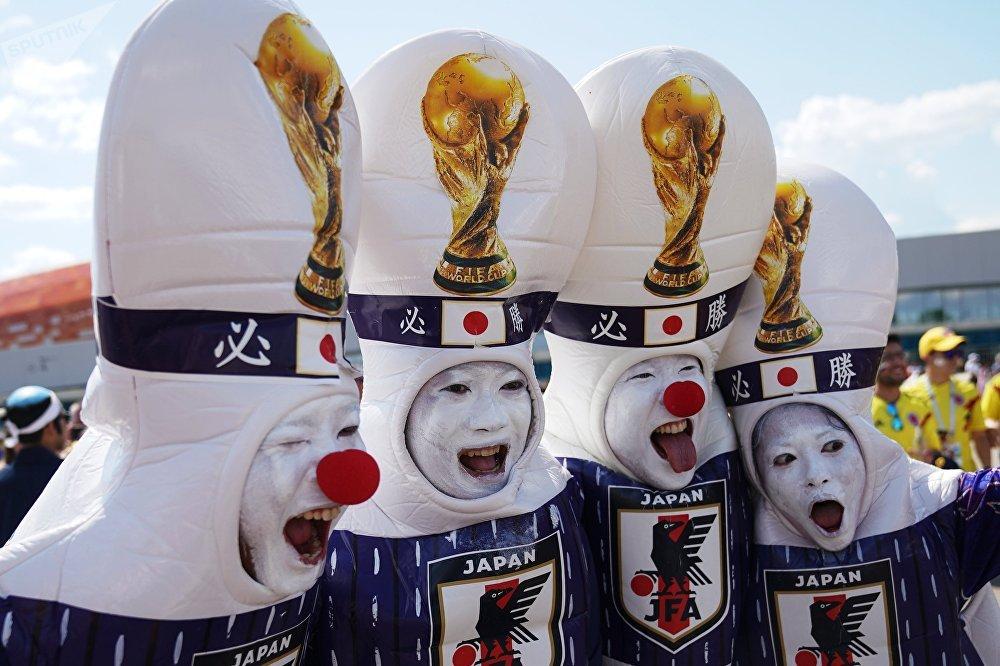 Болельщики сборной Японии