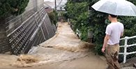 Ливни в Японии привели к наводнениям