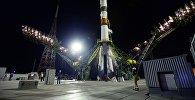 Запуск ракеты «Прогресс МС-09» с космодрома Байконур, архивное фото