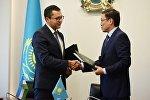 Нацбанк Казахстана и Центральный банк Узбекистана подписали соглашение о взаимодействии в сфере банковского надзора