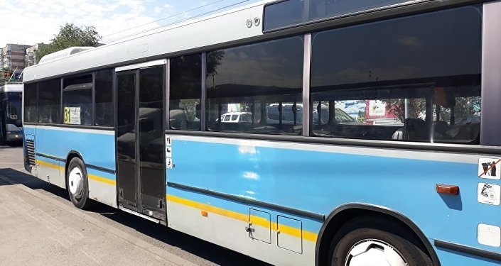 Лада Ларгус автобустан түскен қызды қақты