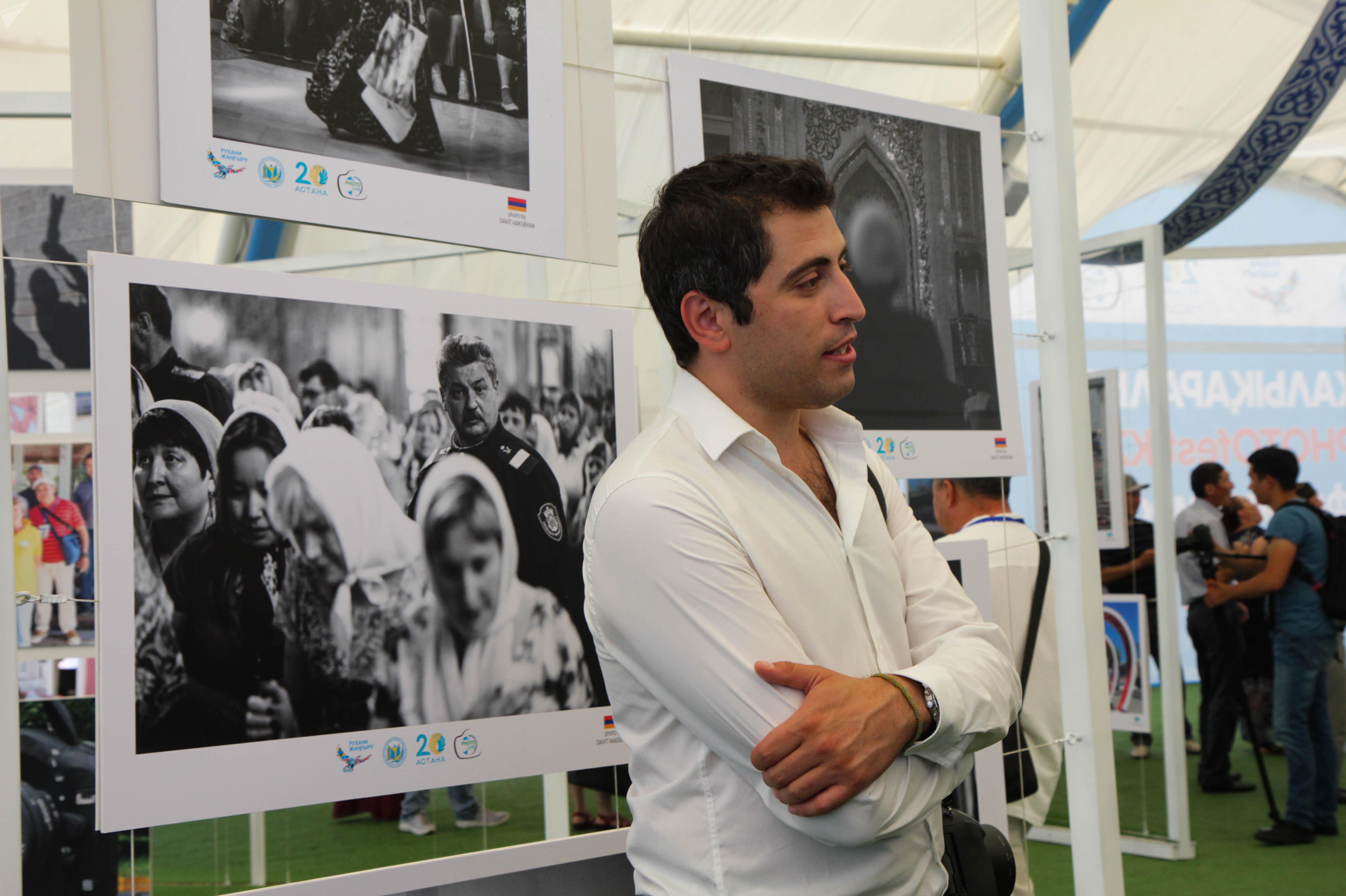 Фотограф из Армении Давид Акопян приехал в Астану на фотофестиваль
