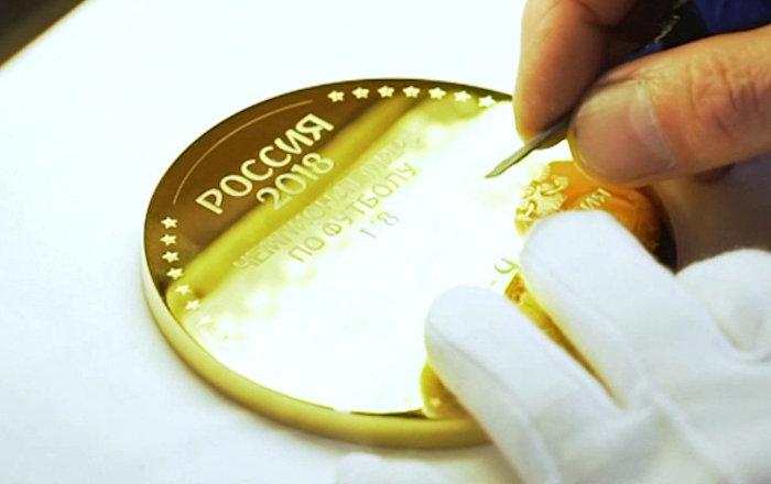 Ногу Игоря Акинфеева увековечили в золоте