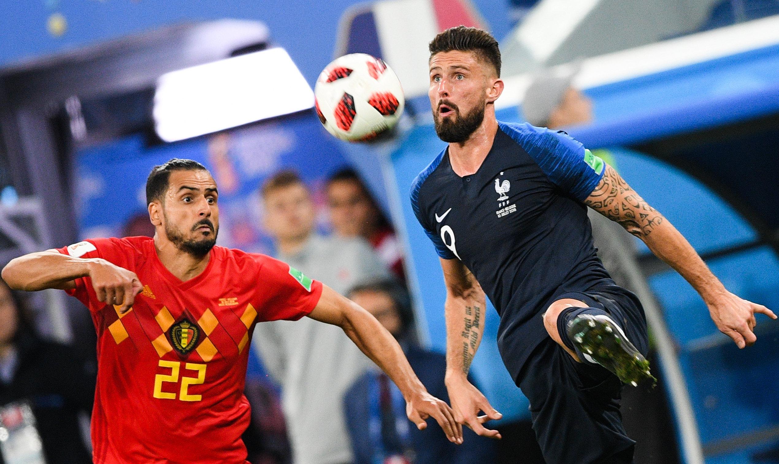 Футбол. Әлем чемпионаты-2018. Франция-Бельгия