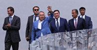 Президент Казахстана Нурсултан Назарбаев ознакомился с объектами международной лыжной базы Бурабай в Щучинске