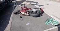 Мотоциклист погиб на пересечении проспекта Райымбека и улицы Емцова